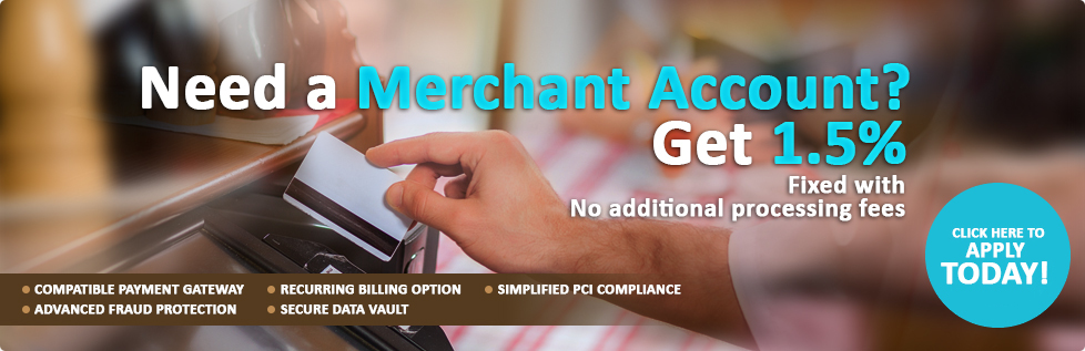 Apply for a Merchant Account